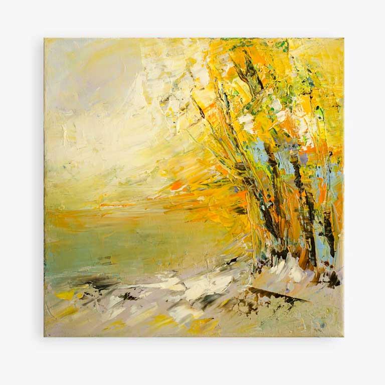 painting landscapes oil