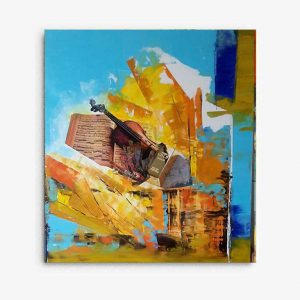 Painting abstract oil
