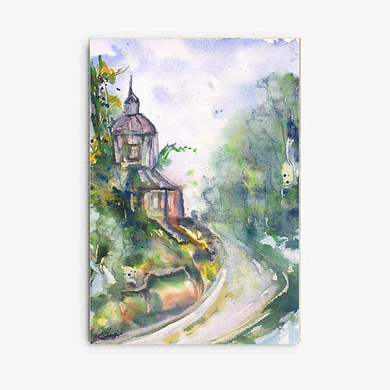 Watercolor painting gallery